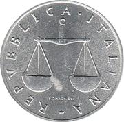1 lire -  avers