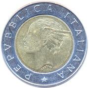 500 lires Banque d'Italie -  avers