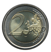 2 euros Unification italienne -  revers