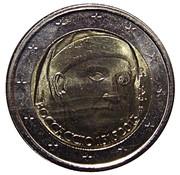 2 euros Giovanni Boccaccio -  avers