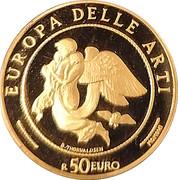 50 Euro (European Arts - Denmark) – avers
