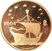 50 Euro (European Arts - Denmark) – revers