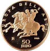 50 euros Grèce – avers