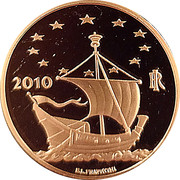 50 Euro (European Arts - Hungary) – avers