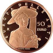 50 Euro (European Arts - Hungary) – revers