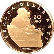 20 Euro (European Arts - Netherlands) – revers