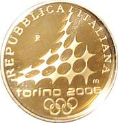 20 euros JO 2006 Porte Palatine -  avers