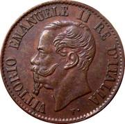 1 centesimo Victor-Emmanuel II – avers