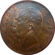 10 centesimi Humbert Ier – avers