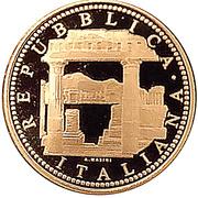 20 euros Flore dans l'art (La Rome Antique) – avers