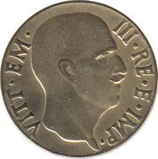 5 centesimi Victor-Emmanuel III (bronze-aluminium) – avers