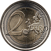2 euros Constitution italienne -  revers