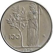 100 lires (grand module) -  revers