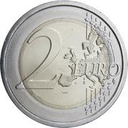 2 euros Ministère de la santé -  revers