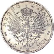 5 lires Victor-Emmanuel III (fausse) – revers