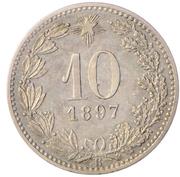 10 centesimi (Essai) – revers