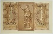 1 Lire - Victor Emanuel III – revers