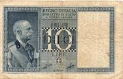 """10 Lire  """"Impero"""" – avers"""