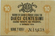 10 Centesimi (CVP - Austrian Occupation) -  avers