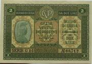 2 Lire (CVP - Austrian Occupation) – avers