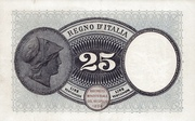 25 Lire – revers