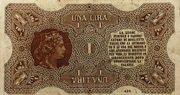 1 Lira – revers