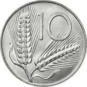 10 lires -  revers