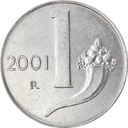 1 lire -  revers