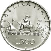 500 lires -  avers