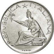 500 lires Unité italienne -  avers