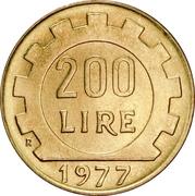 200 lires -  revers