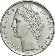 100 lires (grand module) -  avers