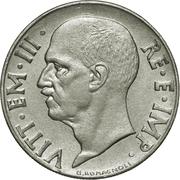 20 centesimi Victor-Emmanuel III (magnétique, lisse) – avers
