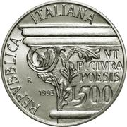 500 lires Horatius -  avers