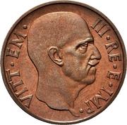 5 centesimi - Vittorio Emanuele III (1er type, essai) – avers