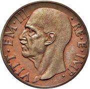 10 centesimi - Vittorio Emanuele III (1er type, essai) – avers