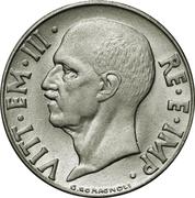 20 centesimi Victor-Emmanuel III (non magnétique, lisse) – avers