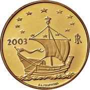 50 Euro (European Arts - Austria) – avers