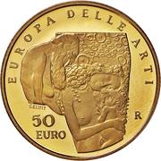 50 Euro (European Arts - Austria) – revers