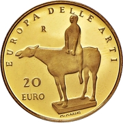 20 Euro (Arts in Europe - Italy) – revers