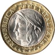 1000 lires Union européenne (RFA)  (Allemagne non réunifiée) -  avers