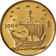 20 euros Belgique – avers