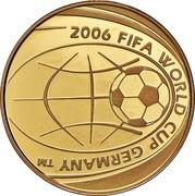 20 euros Coupe du monde FIFA 2006 – avers