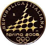 20 euros JO 2006 Porte Palatine – avers