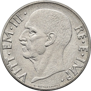 20 centesimi - Vittorio Emanuele III (Magnétique, essai) – avers