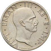 50 centesimi - Vittorio Emanuele III (Essai) – avers
