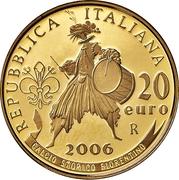 20 euros Coupe du monde FIFA 2006 – revers