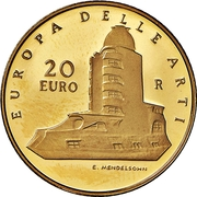 20 euros Allemagne – revers