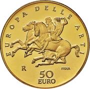 50 euros Grèce – revers