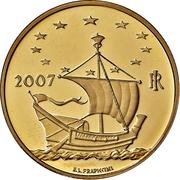 50 Euro (European Arts - Norway) – avers